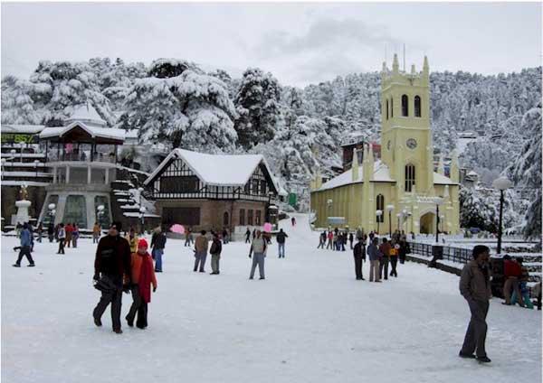 The Ridge, Shimla - 10 Best Places To Visit In Himachal Pradesh